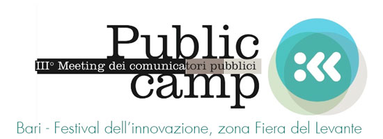 PublicCamp – III Meeting dei comunicatori Pubblici