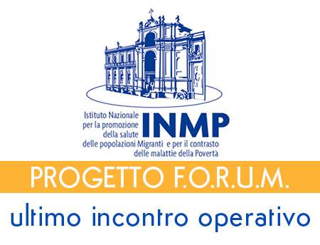 Ultimo incontro operativo progetto f.o.r.u.m.