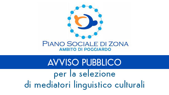 Avviso pubblico per la selezione di mediatori linguistico culturali