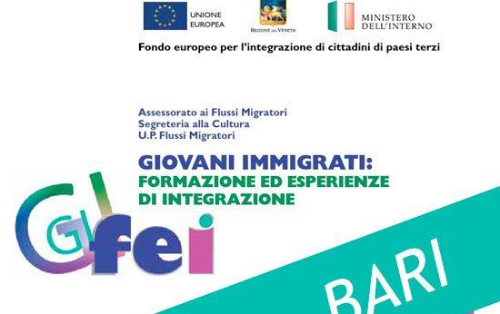 """Seminario """"GI-FEI giovani immigrati. Formazione ed esperienze di integrazione"""""""