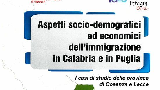 Aspetti socio-demografici ed economici in Calabria e Puglia